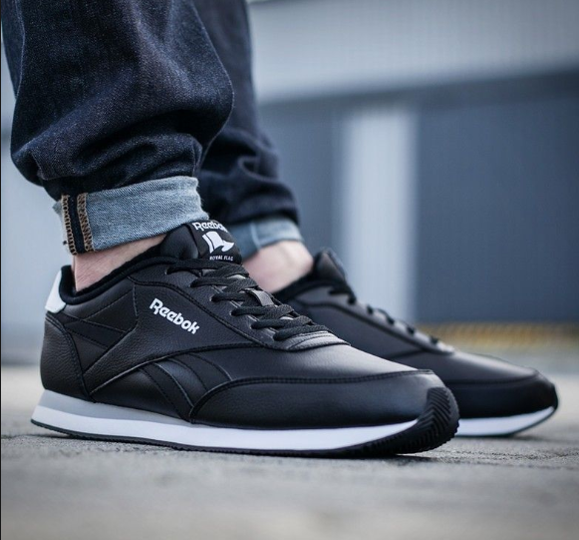 0164f7e92 Home / Brands / Reebok / REEBOK ROYAL CL JOG 2L BLACK